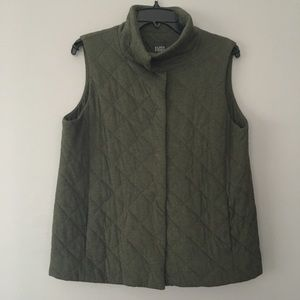 Eileen Fisher Quilted Vest